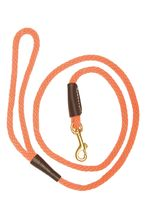 Dog leash orange with carabiner - Country