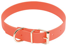 Photo Collier pour chien Biothane orange fluo - Country