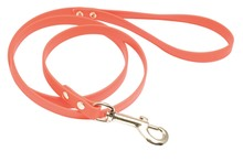 Photo Laisse 1,20 m Biothane orange fluo pour chien - Country