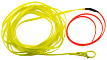 Leash 10 m Fluorescent Biothane for Dog - Country