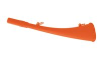 Photo Horn of call 25 cm ABS fluorescent orange - Elless