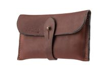 Bold leather clutch - Country Saddlery