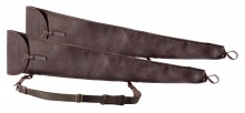Double leather scabbard