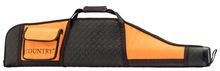 Photo Fourreau orange/noir en cordura pour carabine avec lunette - Country Sellerie