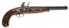 Continental pistol with flintlock cal. .44Continental pistol with flintlock cal. .44