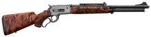 Photo Rifle Pedersoli lift Action Boarbuster Orange Camo mod. 86/71 cal. Marlin
