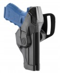 Polymer leg holster for Beretta 92 / pamas g1 right-handed