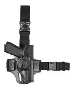 Polymer leg holster for Glock 17/19 right-handed