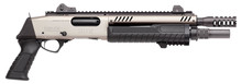 Fabarm STF 12 SHORT Pump Gun - Nickel