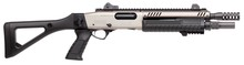 Fabarm STF 12 COMPACT Shotgun - Nickel