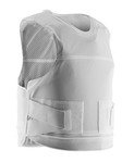 Bullet proof vest with a discreet white port SK1 +