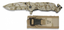 Photo K25 Camo Deserty folding knife