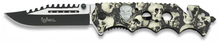 Photo Folding knife Albainox Skull