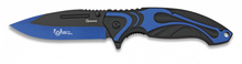 Albainox folding knife blue