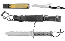 Photo King II Inox combat survival knife