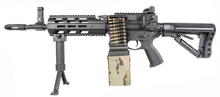 Photo Réplique AEG CM16 LMG Mosfet et E.T.U. 1,2J