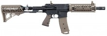 Photo Marqueur Tippmann TMC 68 Dark Earth avec crosse Air-thru