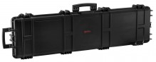 Black Waterproof XL briefcase 137 x 39 x 15 cm pre-cut foam - Nuprol
