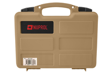 Brief case with precut foam tan - Nuprol