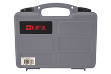 Brief case with gray pre-cut foam - Nuprol