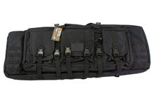 Soft case with compartments 36 'black - NUPROL