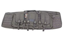 Soft case with compartments 42 '' gray - NUPROL