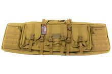 Soft case with compartments 42 '' tan - NUPROL