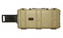 Waterproof 75x33x13cm Hard case Tan