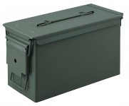 Polymer ammunition box cal. 50 TAN 33X18X25