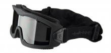 Airsoft Mask AERO Series Thermal black smoke