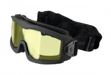 Airsoft Mask AERO Series Thermal black yellow