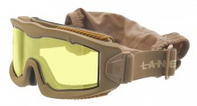 Airsoft Mask AERO Series Thermal Tan Yellow