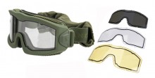 Airsoft Mask AERO Series Thermal OD 3 lenses
