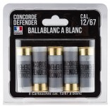 5 cartridges Ballablanc cal. 12/67 to white5 cartridges Ballablanc cal. 12/67 to white