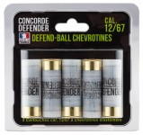 5 Defend-Ball cartridges cal. 12/67 Elastomer buckshot5 Defend-Ball cartridges cal. 12/67 Elastomer buckshot