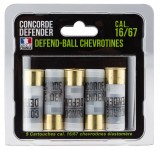 5 cartouches Defend-Ball cal. 16/67 chevrotines Elastomere