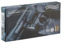 Box of 50 cartridges 9 mm RK blank
