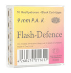 Box of 10 cartridges 9 mm PAK to white