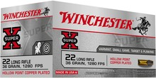 Photo Super-x - munitions 22 long rifle - Winchester