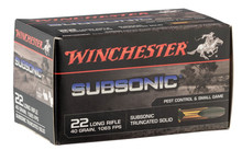 Munitions Subsonic cal. 22 LR