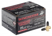 Cartridges 22 LR Black Copper plated round nose