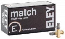 Eley Match cal cartridges. 22 LR