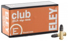 Photo Cartouches Eley Club cal. 22 LR