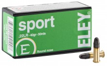 Cartridges Eley Sport cal. 22 LR