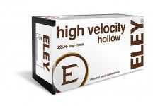 Munitions ELEY High Velocity Hollow Point cal. 22 LR