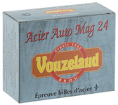 Cartridges Vouzelaud Steel Auto Mag 24 - Cal. 20/76