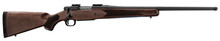 Photo Repeating Mossberg rifles Patriot Walnut lacrosse wood with threaded barrel
