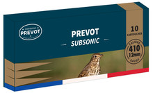 Photo Prevot cartouches subsoniques Cal. 410-76