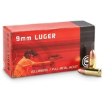 GECO CART. 9 mm LUGER HOLLOW POINT - 124 gr - BOT OF 50