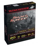 Cartridges Winchester Super Speed G2 - Cal. 20/76